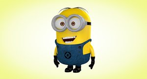 3d model of minion version
