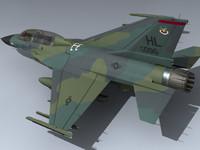 max usaf f-16b falcon eye