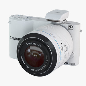 3dsmax samsung camera