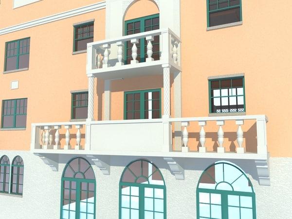 3d model school building