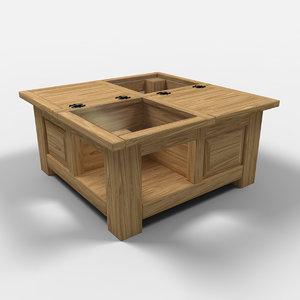 acapulco chest furniture arcon 3d model