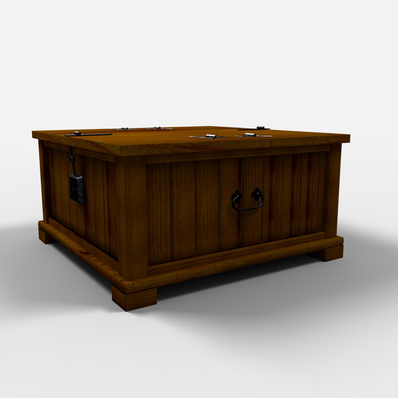durango chest furniture arcon 3d max