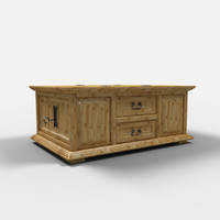 juarez chest furniture arcon 3d model