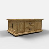 juarez chest furniture arcon 3d model