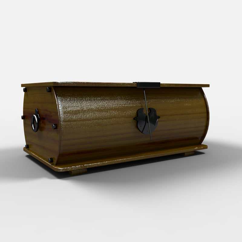 3d model monterrey chest furniture arcon