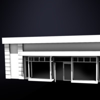 store structure 3d model