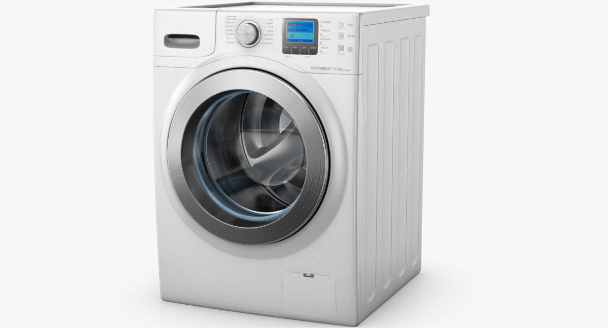 3ds samsung ecobubble washing machine
