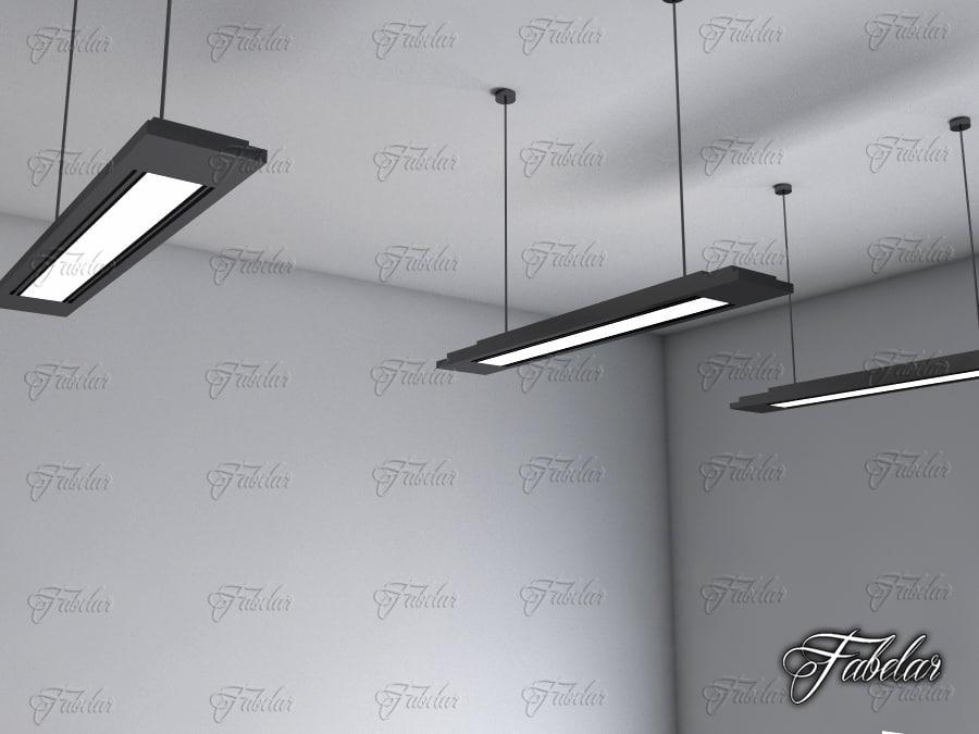 3d hanging light