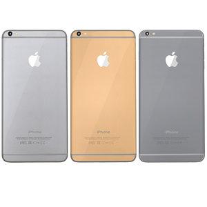 3d modelled iphone 6 set model