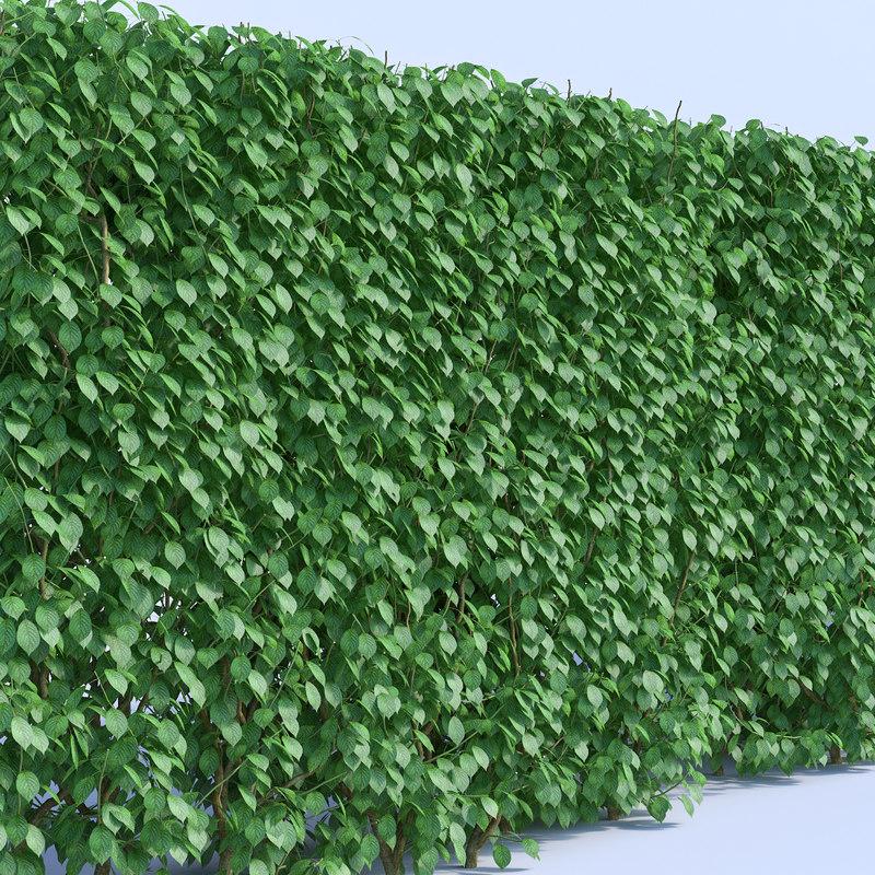 set bushes 3 3d fbx