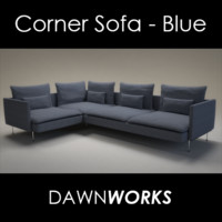 max fabric corner sofa
