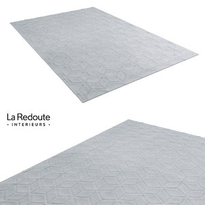 3ds max laredoute pure laine rug