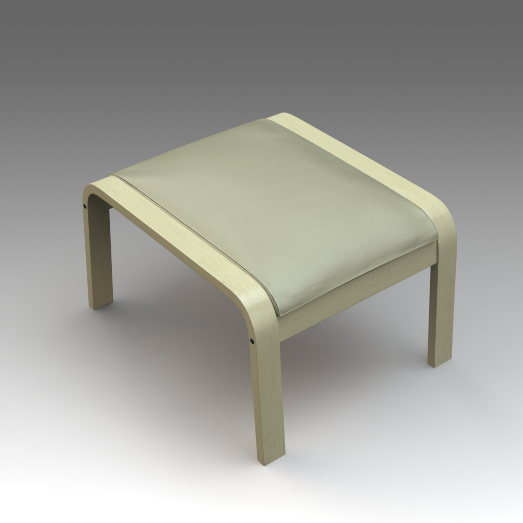 Outstanding Ottoman Footstool Poang Ikea Creativecarmelina Interior Chair Design Creativecarmelinacom