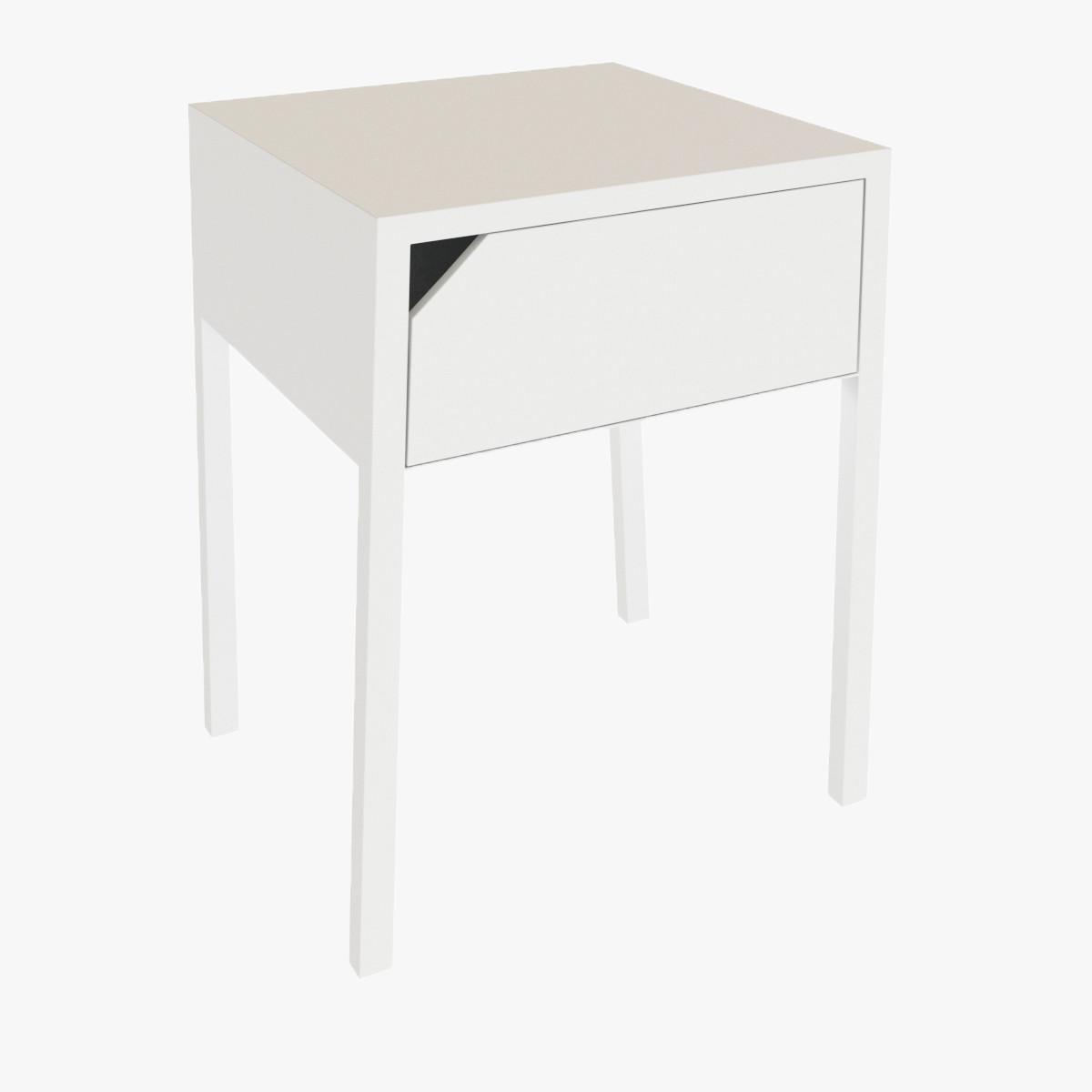 selje bedside table 3d model