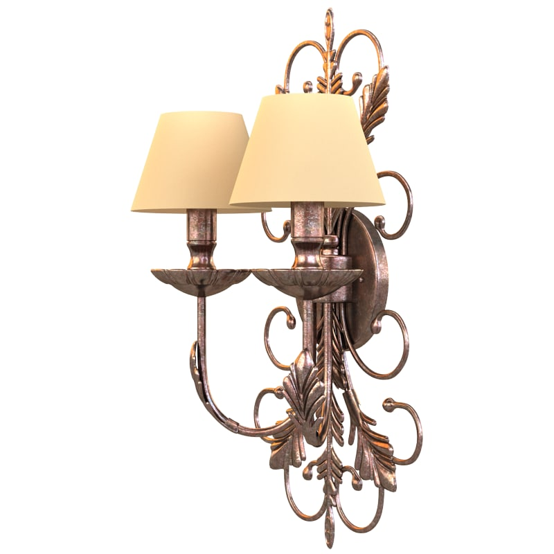 3d model of chandelier