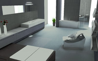 luxury bathroom c4d free
