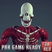 3d model humanoid creature