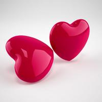valentine s heart 3d model