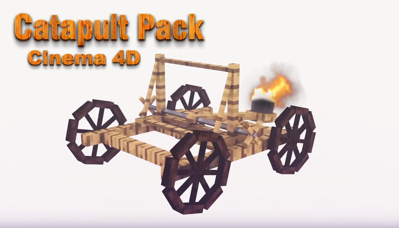 3d catapult pack