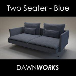 fabric seater sofa blend