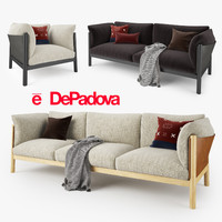 DePadova Yak Sofa Collection