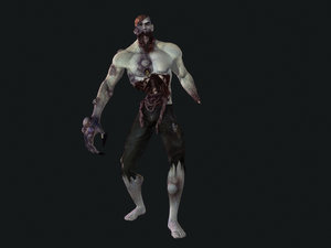 zombies strong 3d ma