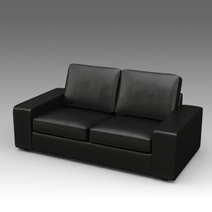 3d leather loveseat ikea
