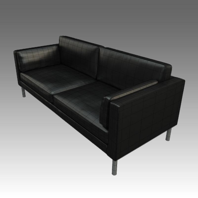 model leather sofa ikea