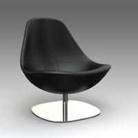 3d armchair ikea model
