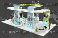 EXHIBITION STAND 54SQM 9X6