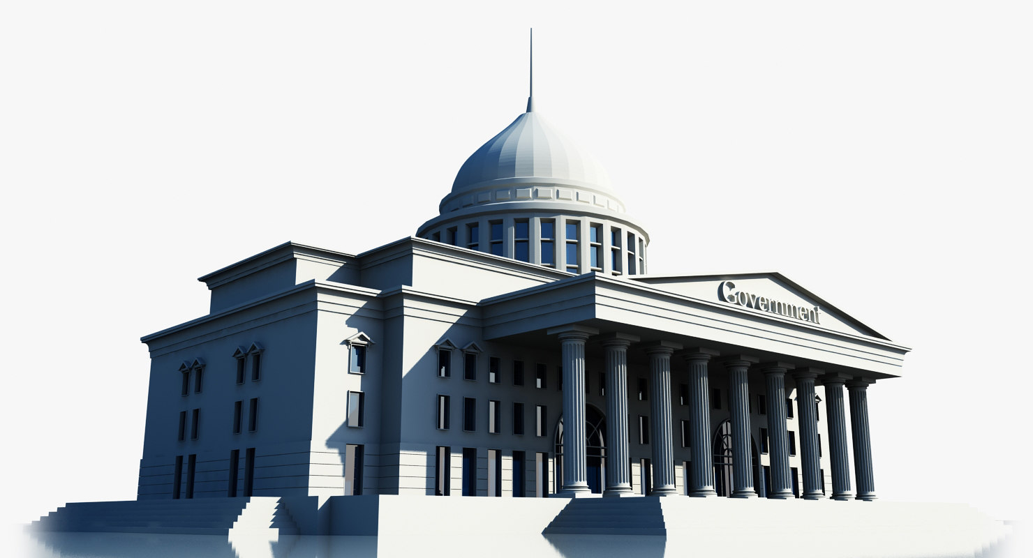 3ds max government building symbol