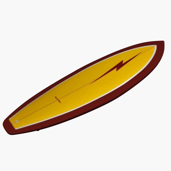 3ds surfboard 01