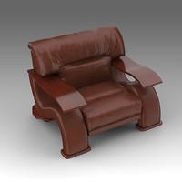 leather armchair x
