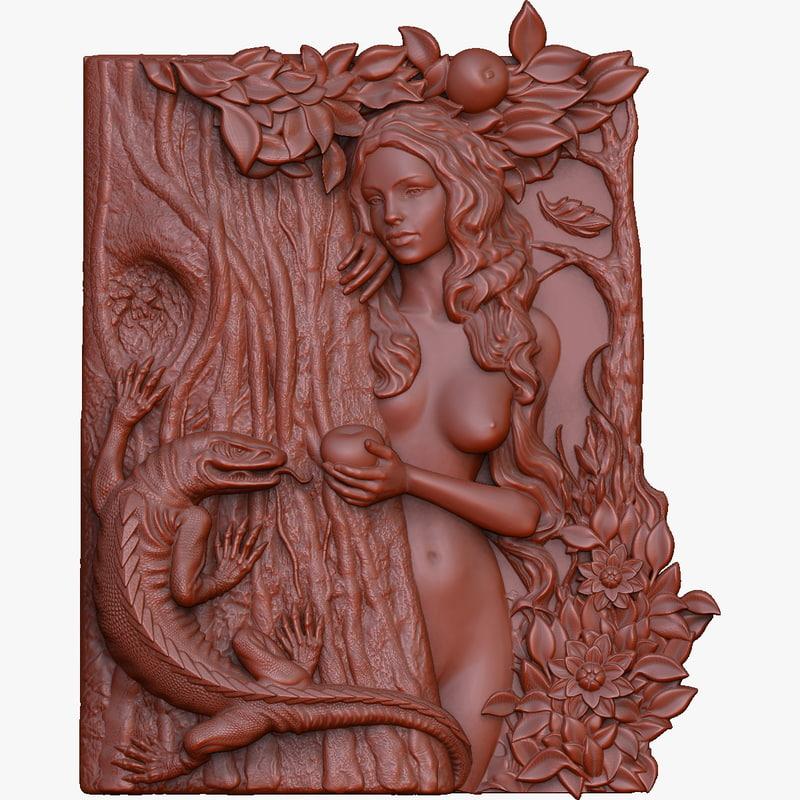 3d model cnc bas relief