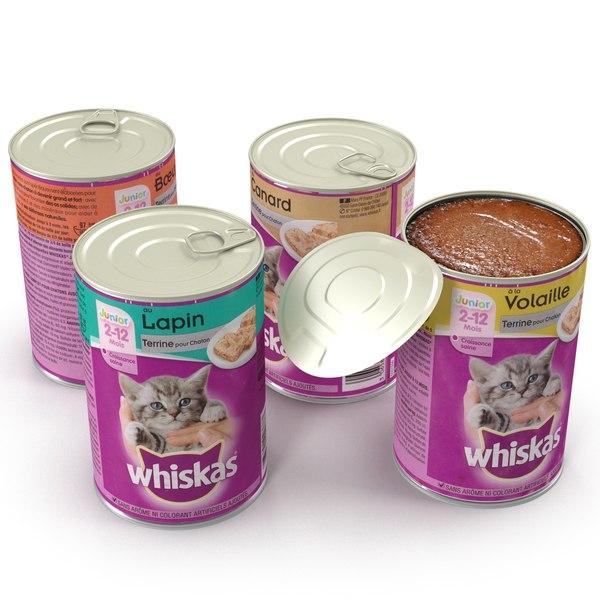 cat food 3d model