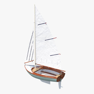 obj sailboat sail boat