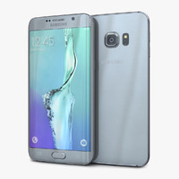3d model samsung galaxy s6 edge