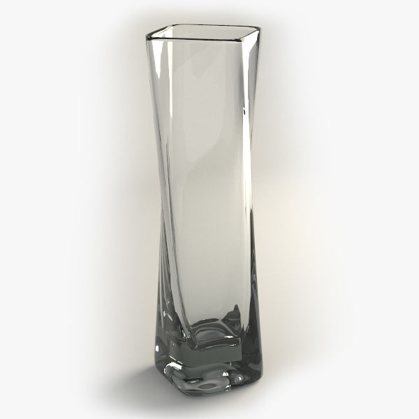 3d max glass table vase