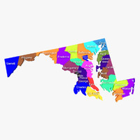 3ds maryland counties