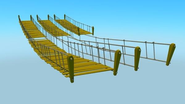 rope bridges packs dxf