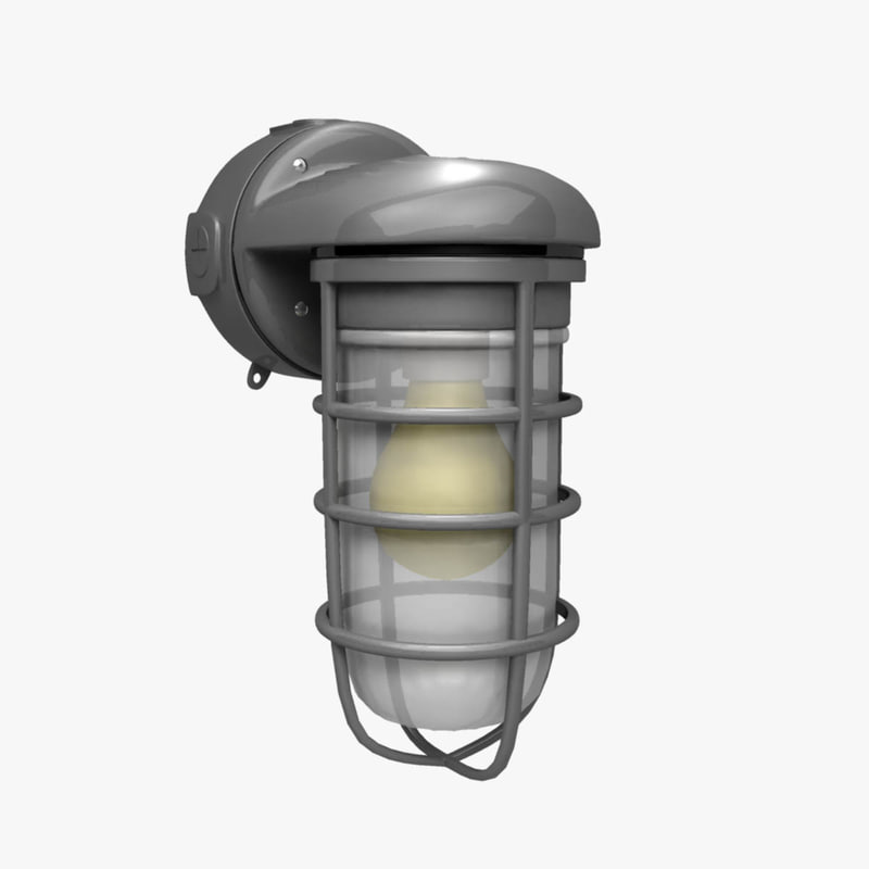 obj industrial wall mount exterior light