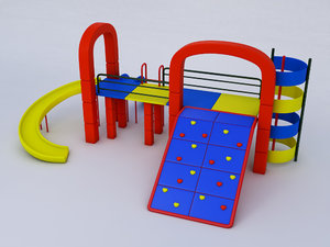 obj playground sport
