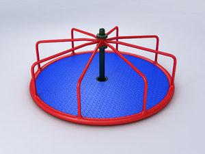 3d roundabout model