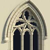 Small Arched Gothic Window - Type II