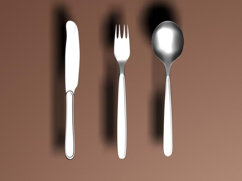 service cutlery 3d x