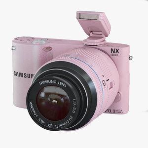 samsung camera 3d model