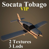 socata vip 3d model