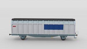 3d swiss all-door car model