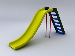 free obj model slide