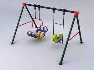 swing 3d obj